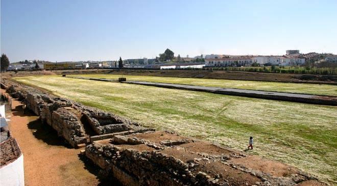El Circo Romano de Mérida, es un lugar idoneo para presenciar todas la pruebas sin perderse ningún detalle