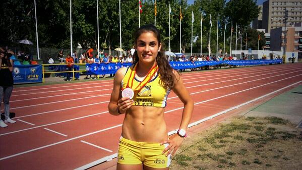 La cordobesa Estela Guisado Mengual, medalla de bronce en los 400 en el Campeonato de España Universitario