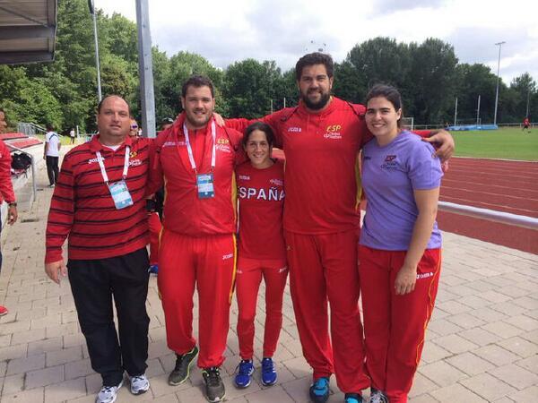 El malagueño borjas Vivas 4º en el Europeo de Selecciónes con un mejor lanzamiento de 20.00 metros