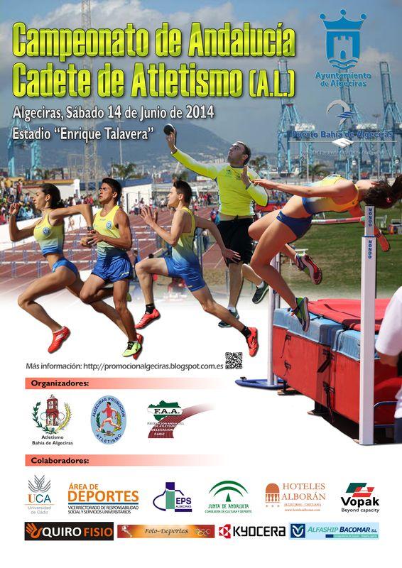 Este sábado se celebra el Campeonato de Andalucía cadetes en Algerciras (Cádiz)