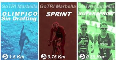 Clasificaciones de la Gotri de Marbella, que se celebró ayer domingo pese a las insclemencias del tiempo