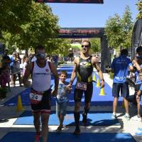 Juan Andres Cano y Sandra de la Torre, se alzan con la victoria en el I Triatlón Cross Ciudad de Baza