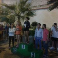 Mari Carmen Mayorga y Daniel Fernández se alzan con el triunfo en la I Carrera Popular Feria de Septiembre (Nueva Carteya-Córdoba)