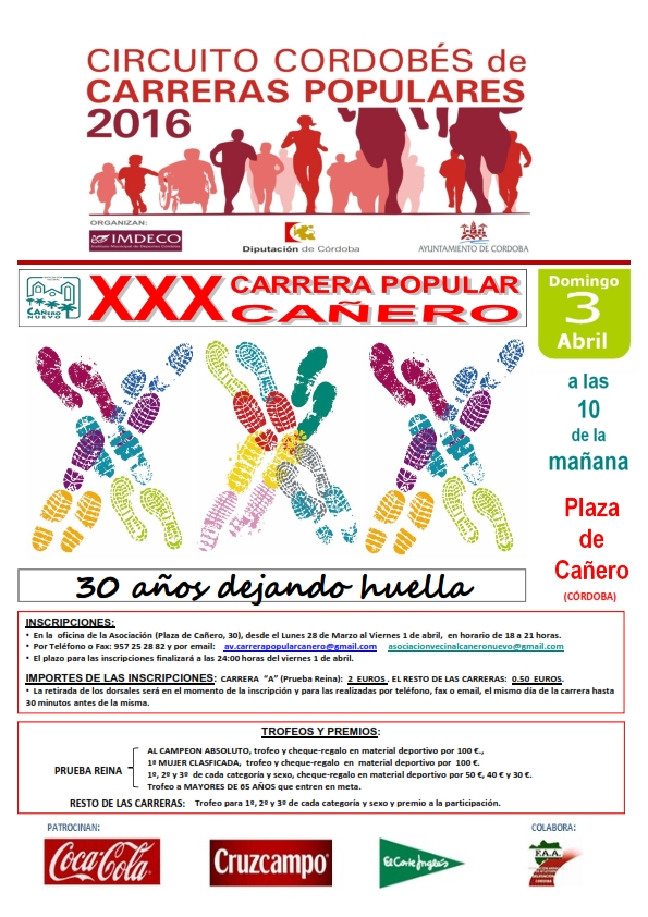 3 de abril Cordoba-Cañero