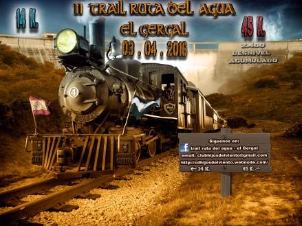 3 de abril Il TRAIL RUTA DEL AGUA