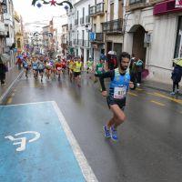 Diego de la Fuente y Fátima Ouhddou vence con la lluvia como compañera