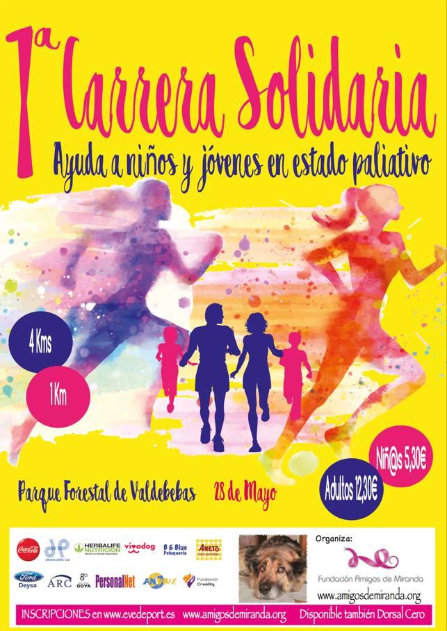 """Inscripciones abiertas para la I Carrera Urbana Solidaria """"Ayuda a ..."""