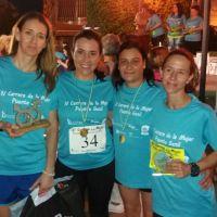 Mercedes Rivas Aguilar gana la Carrera de la Mujer de Puente Geníl