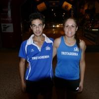 Nuevo doblete para el Trotasierra con el triunfo de Ángel Muñoz Pérez e Isabel Cristina García Martínez