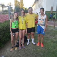 Aluvión de medallas en el Campeonato de Andalucía Sub´20