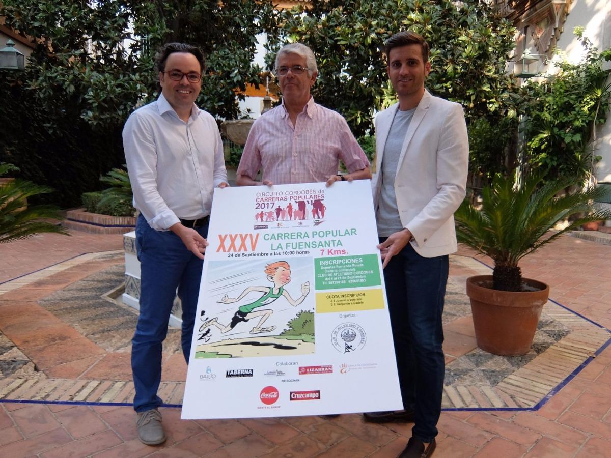 Este próximo domingo la cita atlética estará centrada en la C.P de la Fuensanta (Córdoba)