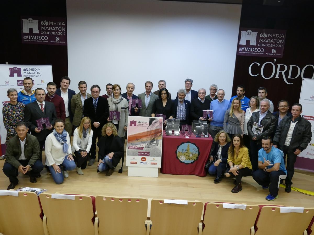 La Media Maratón de Cordoba presentada hoy supera todos sus récord