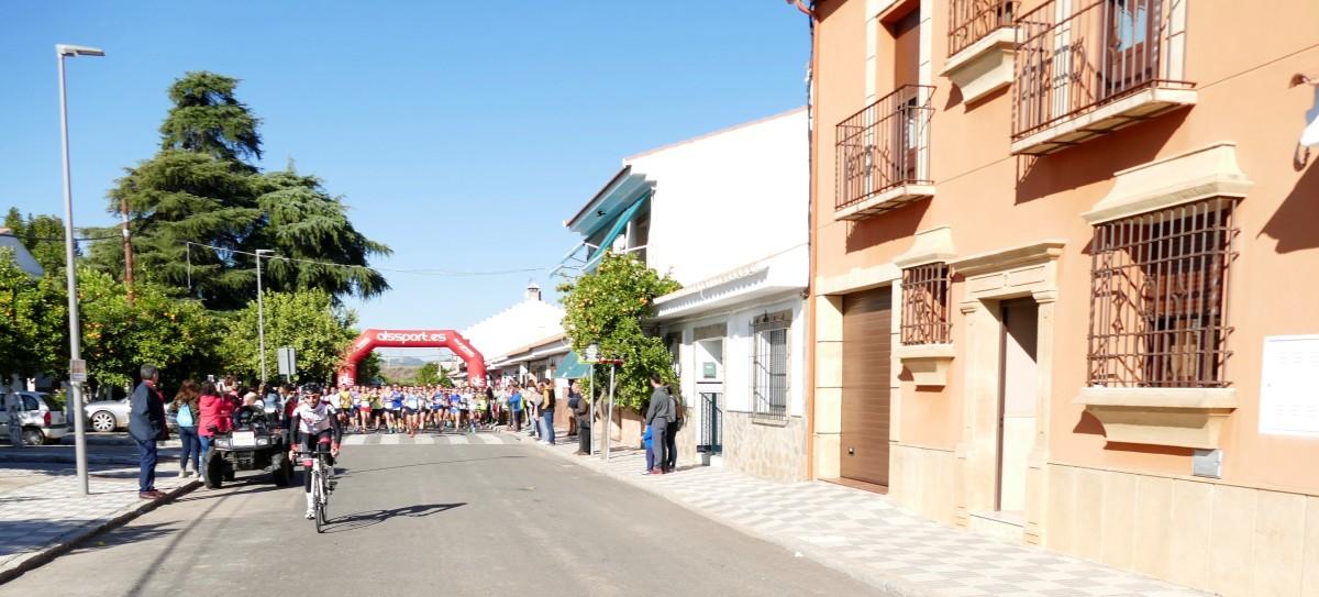 Antonio Montero y Marta Polo triunfan en la Ruta de la Miel y la prueba registra record de participación