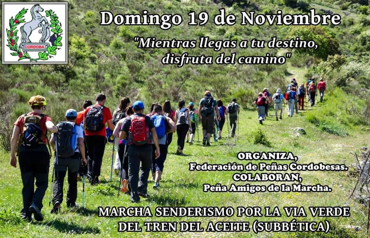 Calendario de Senderismo, información actualizada el día 18 de noviembre