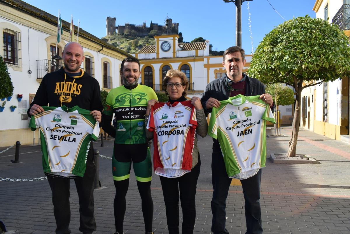 El ciclista de Almodovar del Río, Israel Mudarra gana los circuitos provinciales de Córdoba, Sevilla y Jaén en la modalidad Rally de MTB