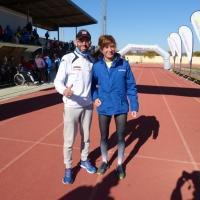 Francis Jiménez Reina y Yolanda Villalba Evans, consiguen la victoria en la XXXV Carrera Popular Ciudad de Palma del Río
