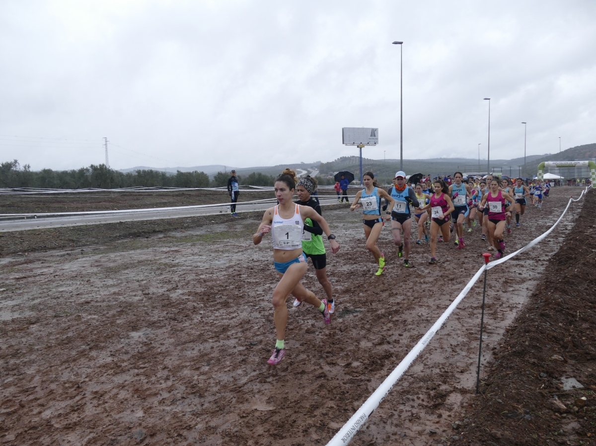 La lluvia desluce el Campeonato de Andalucía de Cross Corto