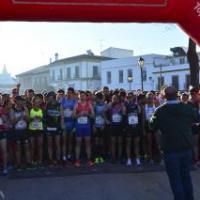 María Belmonte  y Alejandro Reina vencedores en los 15km del VI Gran Fondo del Guadiamar