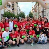La carloteña Patricia Sanchéz vencedora de la V Carrera de la Mujer celebrada en la localidad de Puente Genil