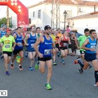 Los atletas locales Virtudes Corpas y Juan Carlos Nieto, vencen en la III Subida al Castillo de Almodóvar del Río