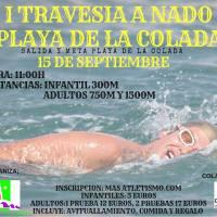 Suspendida la I Travesía a Nado Playa de la Colada (El Viso-Córdoba), las condiciones meteorológicas previstas han tenido mucho peso en esta decisión
