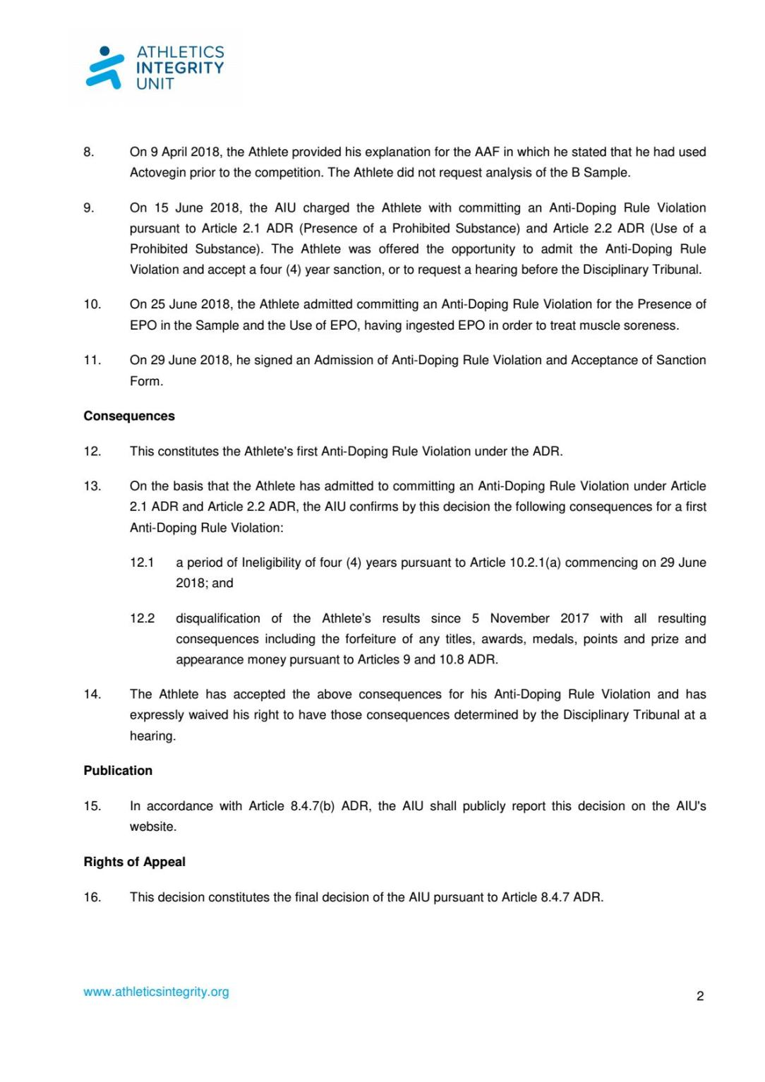 AIU-17-326-Moussaab-HADOUT-AIU-decision-EN - Página 2