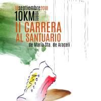 Abierto el plazo de inscripción para la II Carrera al Santuario de María Sta. de Araceli
