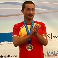 El atleta cordobés Miguel Espinosa de los Ángeles medalla de plata en media maratón y oro por equipos