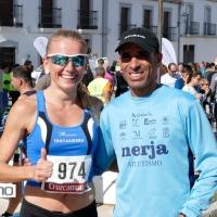 Abdelhadi El Mouaziz y Raquel Hernández se anota el triunfo en la Carrera Popular de Torrecampo