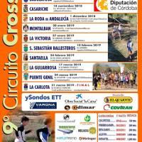 9º Circuito Cross Miguel Ríos, Clasificaciones provicionales tras tres pruebas celebradas
