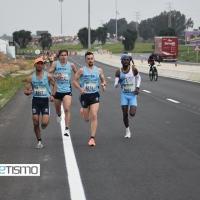 Samuel Lay y Lindsey Elle se anotan el triunfo en la 40ª Media Maratón Sevilla Los Palacios