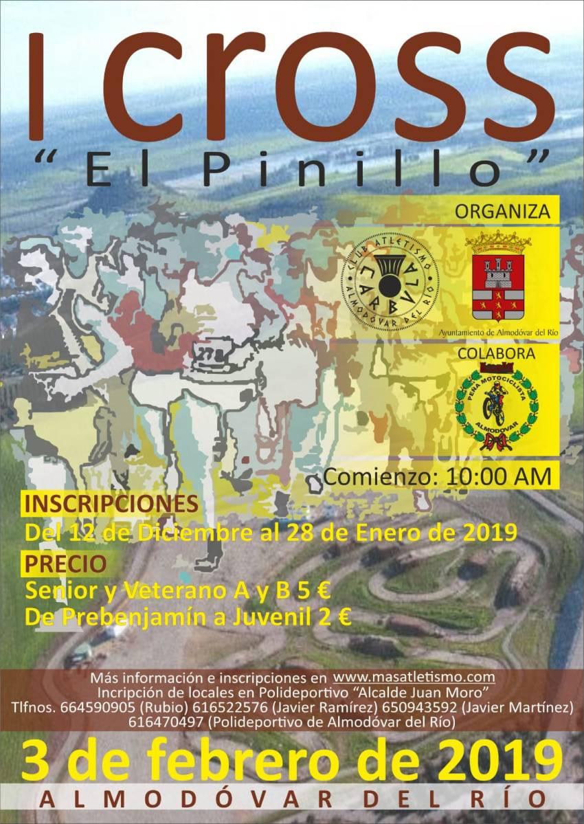 """Nace el I Cross """"El Pinillo"""" información e inscripciones"""