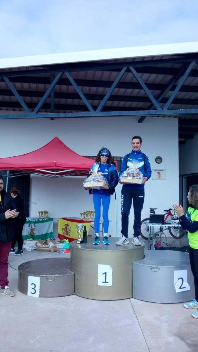 El Trotasierra consigue brillar en El Rubio con Antonio Montero y María Belmonte como vencedores