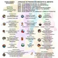 """Interesantes I Jornadas de Prevención """"EL DEPORTE ES VIDA Y HACE VIVIR"""""""