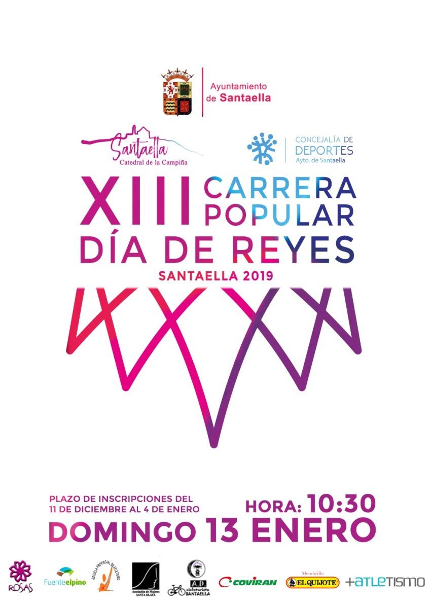 Ya te puedes inscribir a la XIII Carrera Popular Dia de Reyes (Santaella)