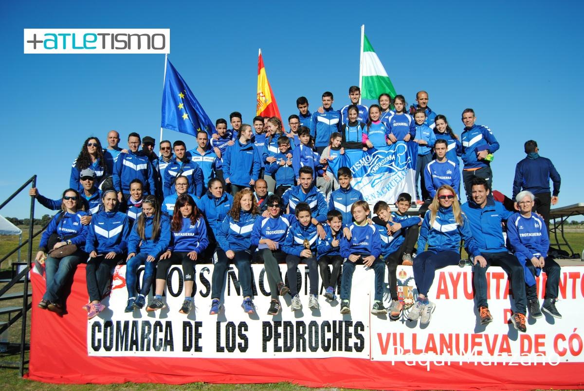 El Club Trotasierra domina la clasificación por equipos del Campeonato Provincial