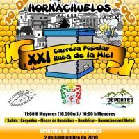 Empezamos a trabajar, XXI Carrera Popular Ruta de la Miel 10 de noviembre 2019 (Hornachuelos)