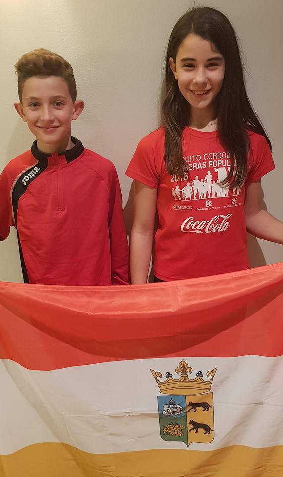 sebas y natalia bandera 2019 andaluz