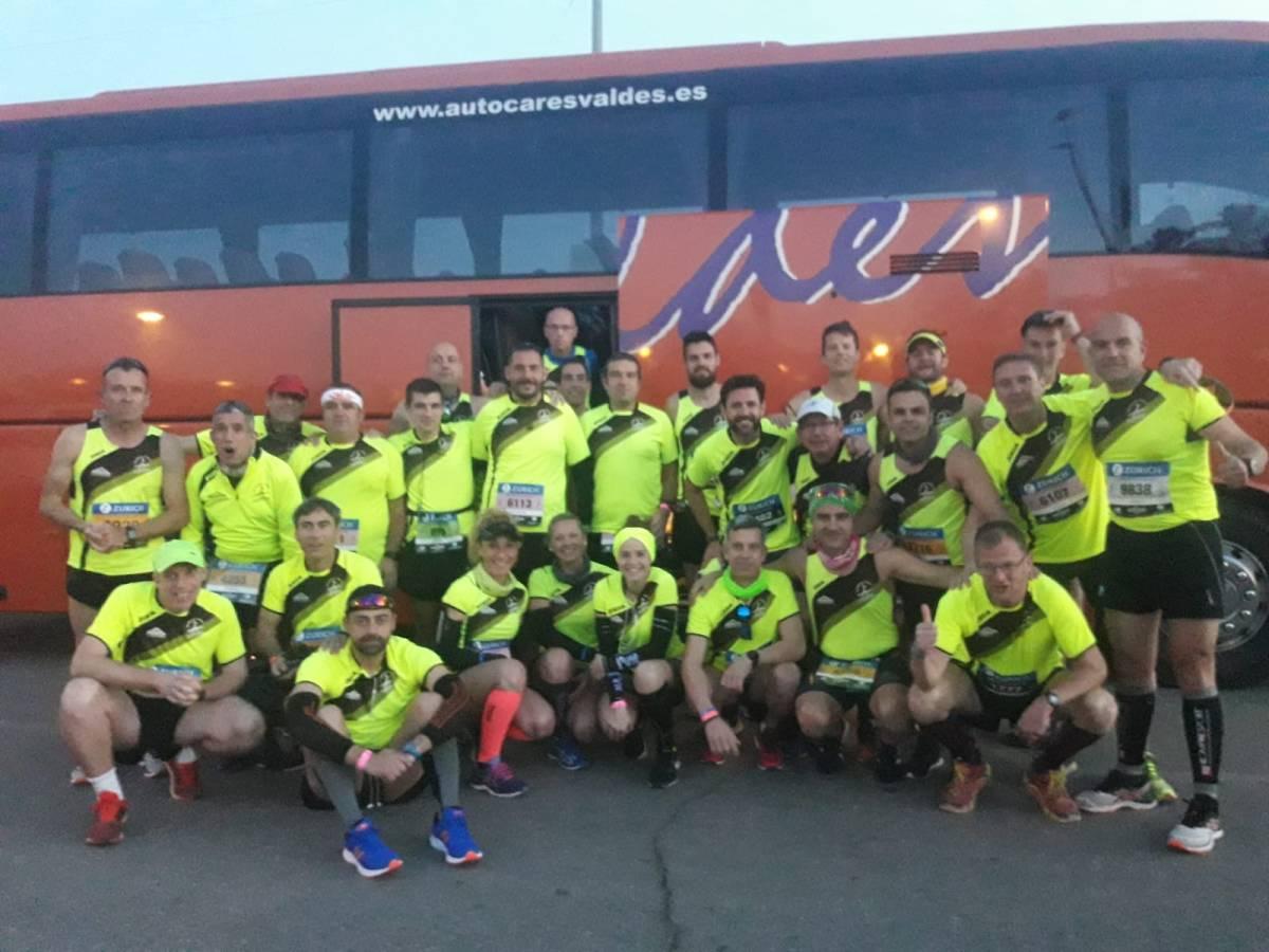 3º Puesto por equipos para  el Club Atletismo Amigos del Canal en la Maratón de Sevilla