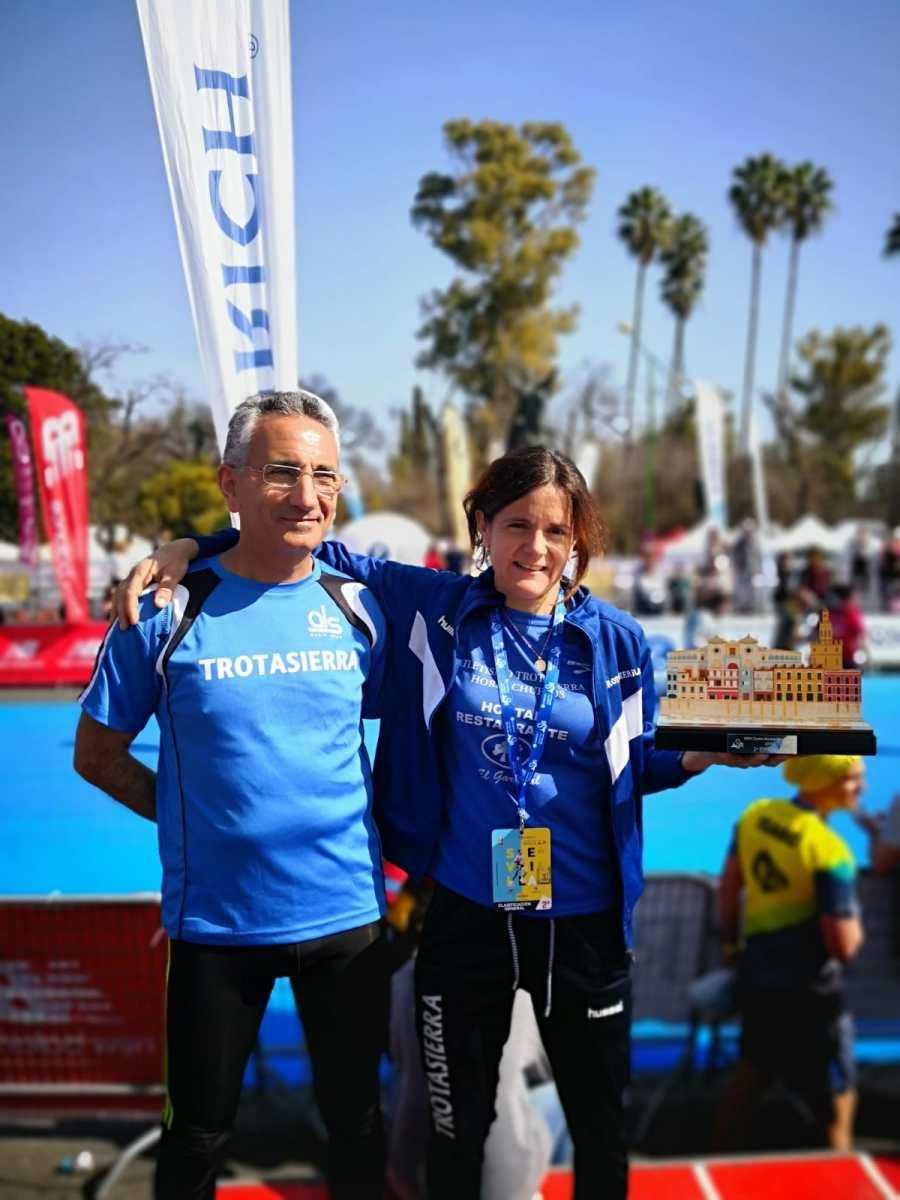La Cordobesa del Club Trotasierra Marta Polo Lacasa segunda española en la Maratón de Sevilla