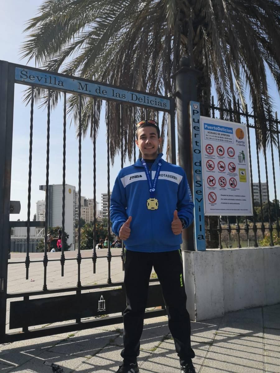 El Pozalbense Ángel Muñoz Pérez sexto español y tercer andaluz en la maratón de Sevilla
