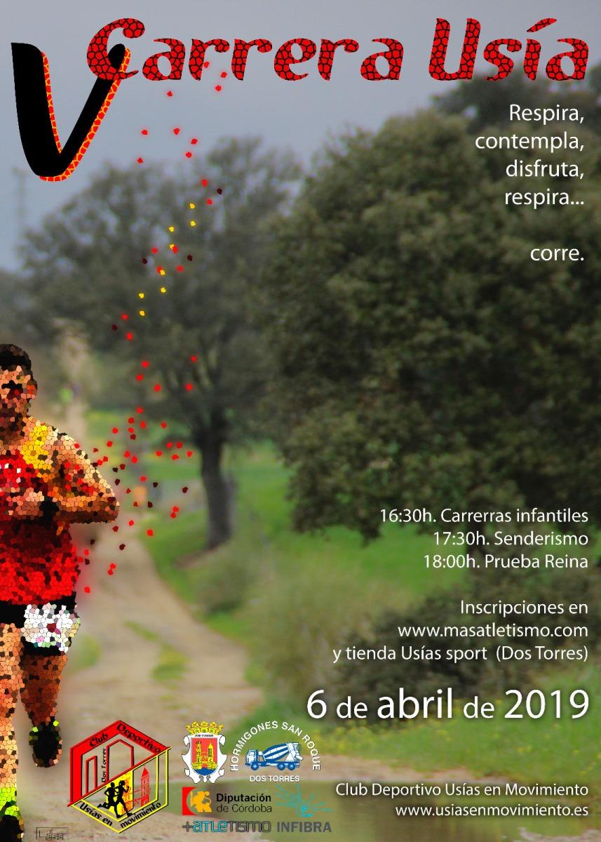 Abrimos inscripciones para la V Carrera Usía (Dos Torres-Córdoba), Atención cupo reducido de participantes