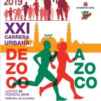 Vente a participar en la XXI Carrera Urbana de Zoco a Zoco, inscripciones en la información