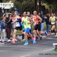 Mamen Ledesma y Kone Yossodjo vence en categoría masculina de la prueba reina de 10km en la Carrera Popular Nervión-San Pablo (Circuito Sevilla10)