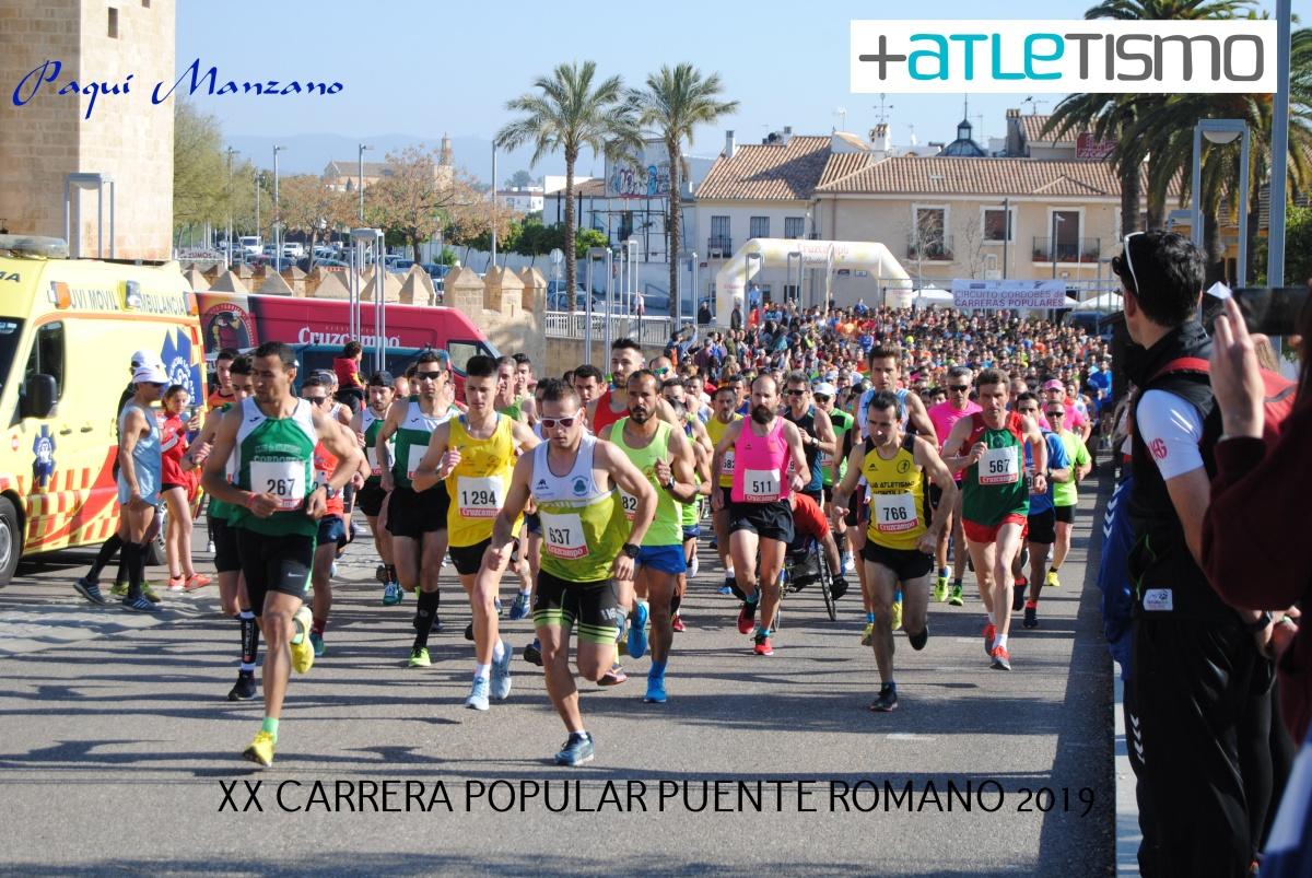 Galeria Fotográfica y clasificaciones de la XX Carrera Popular Puente Romano a cargo de Paqui Manzano (+atletismo)