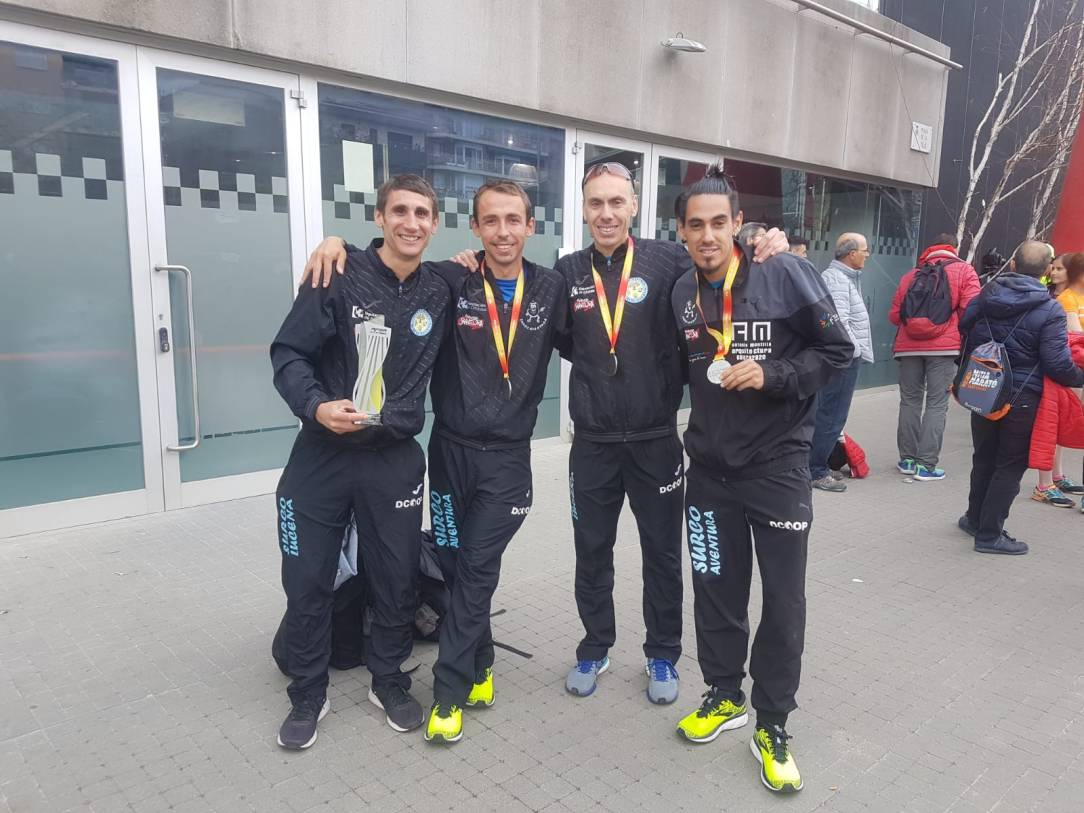 equipo media maraton
