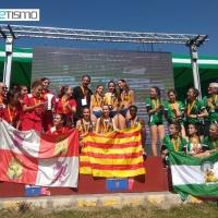 Brillante Campeonato de España Campo a Través Por Autonomías Sub16 y Sub18 celebrado en Villamanrique de la Condesa(Sevilla)