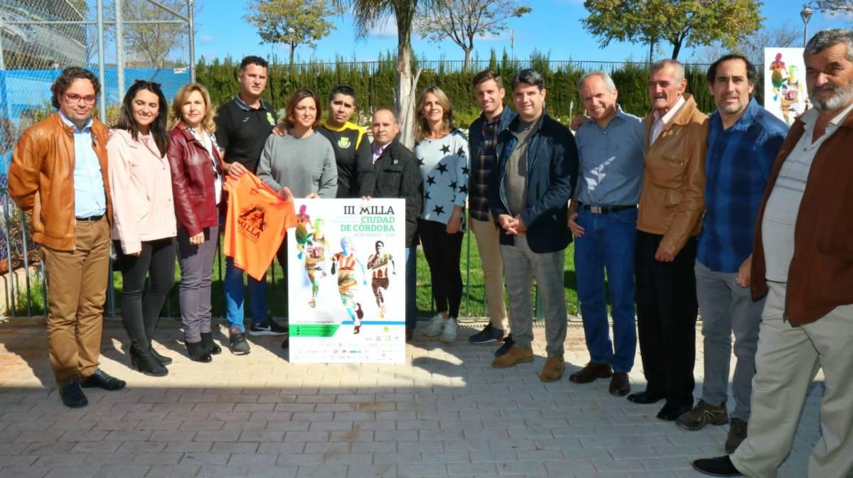 La III Milla Ciudad de Córdoba comienza a rodar, la cita el próximo día 24 de marzo