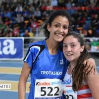Yasmine Boutoil El Rhozlane atleta del Trotasierra décima en el Campeonato de España Sub16