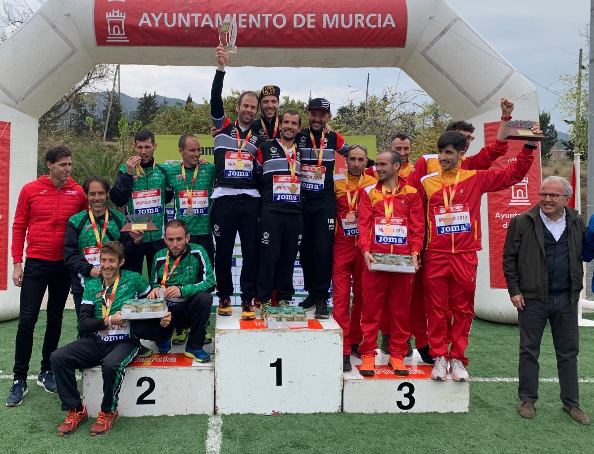 Doblete de Cataluña en el I Cto. España de trail running por FFAA, Malek y Azara García los más rápidos en Murcia